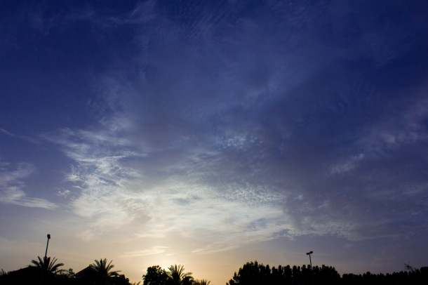 sunset at mamzar