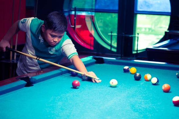 pool hall hustler