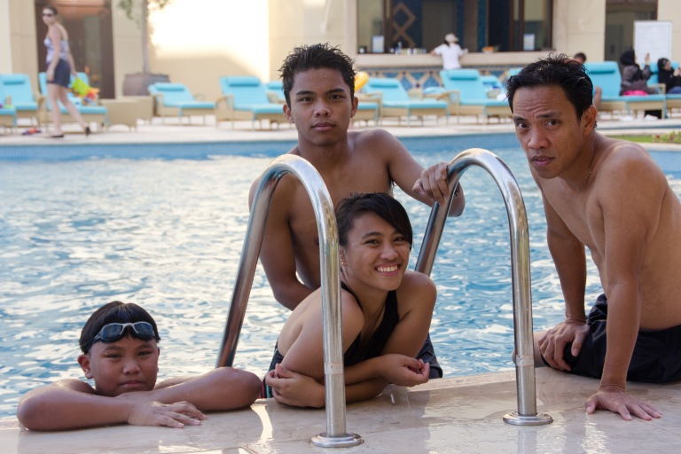 pool babies