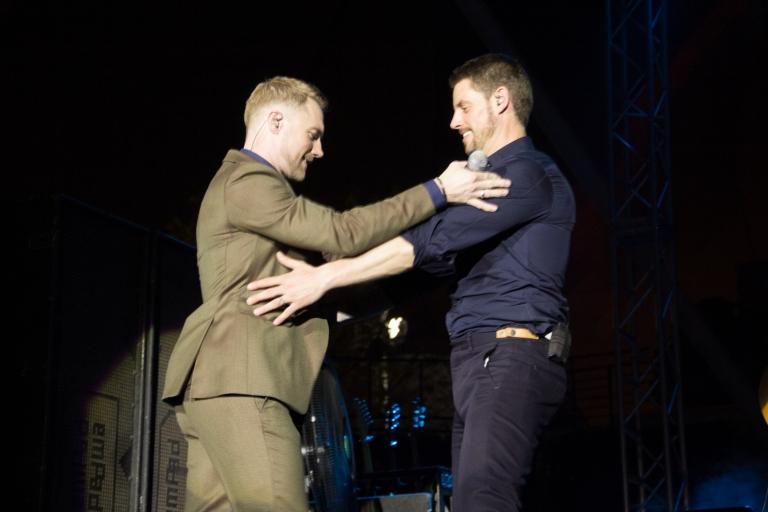 ronan and keith dancing