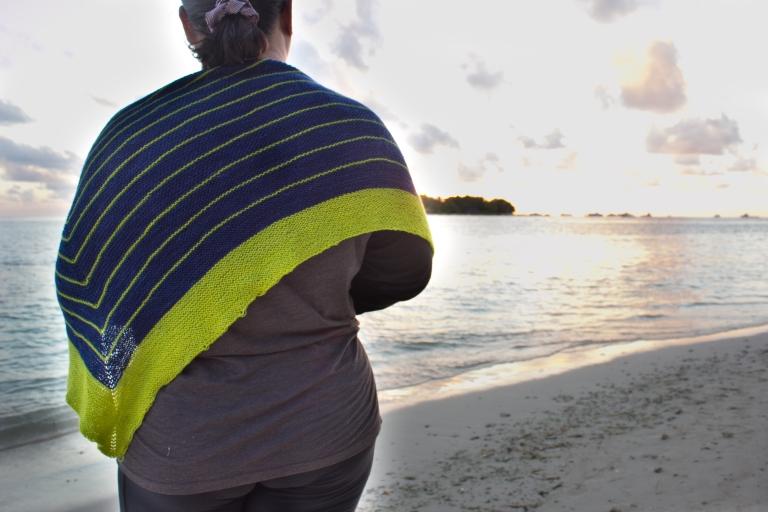 stripes in the maldives