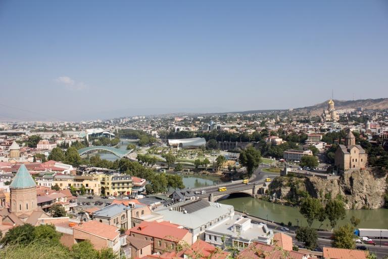 overlooking tbilisi
